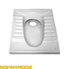 توالت زمینی گلسار مدل لوتوس ریم بسته