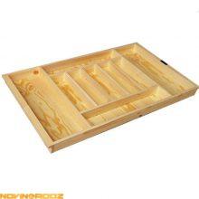 خرید جا قاشقی داخل کشو آدلان چوبی