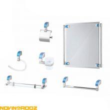 سرویس 6پارچه سرویس بهداشتی کاریز مدل پادنا رنگی