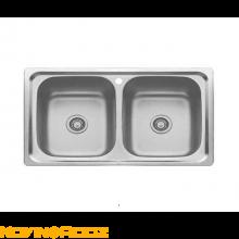 سینک ظرفشویی بیمکث توکار مدل BS519