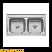 سینک ظرفشویی بیمکث روکار مدل BS518