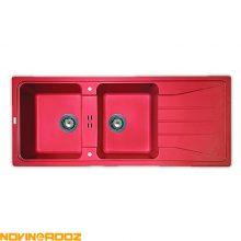 سینک گرانیتی مکاپا مدل Preto قرمز