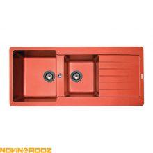 سینک گرانیتی مکاپا مدل Solido قرمز