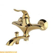 شیر حمام راسان مدل پریمو طلایی