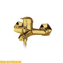 شیر حمام فیروزه مدل مهرسان طلایی