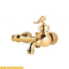 شیر حمام نوتریکا مدل رادین طلایی