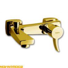 شیر حمام کسری مدل فیروزه طلایی