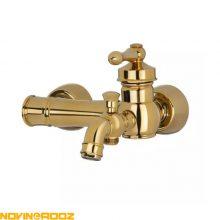 شیر حمام کی اند دی مدل آلفا طلایی