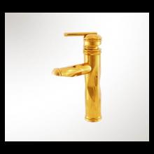 شیر روشویی کابوک مدل آنتیک طلایی