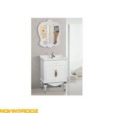کابینت روشویی برسام مدل کارن سفید