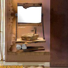 کابینت روشویی مرالو مدل فلورانس