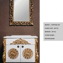 کابینت روشویی لوکو کابین مدل کرتینا 80