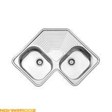 قیمت سینک ظرفشویی استیل البرز توکار مدل 540