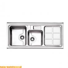 خرید سینک ظرفشویی روکار استیل البرز مدل 815_60